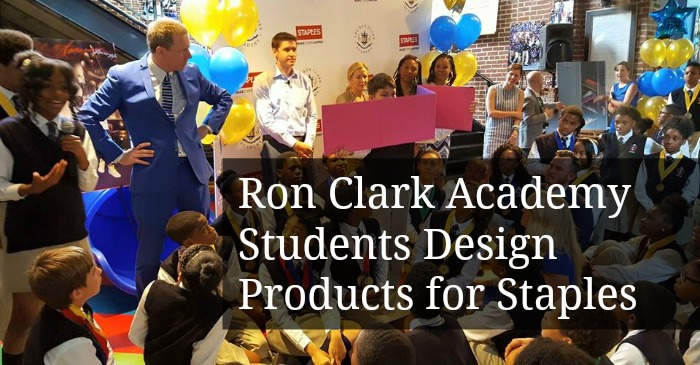 Ron Clark Academy Students Design Products for Staples