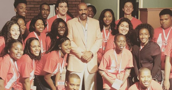 (Video Interview) Steve Harvey Shares Why Education is NOT the Most Important Thing? #PayItForward
