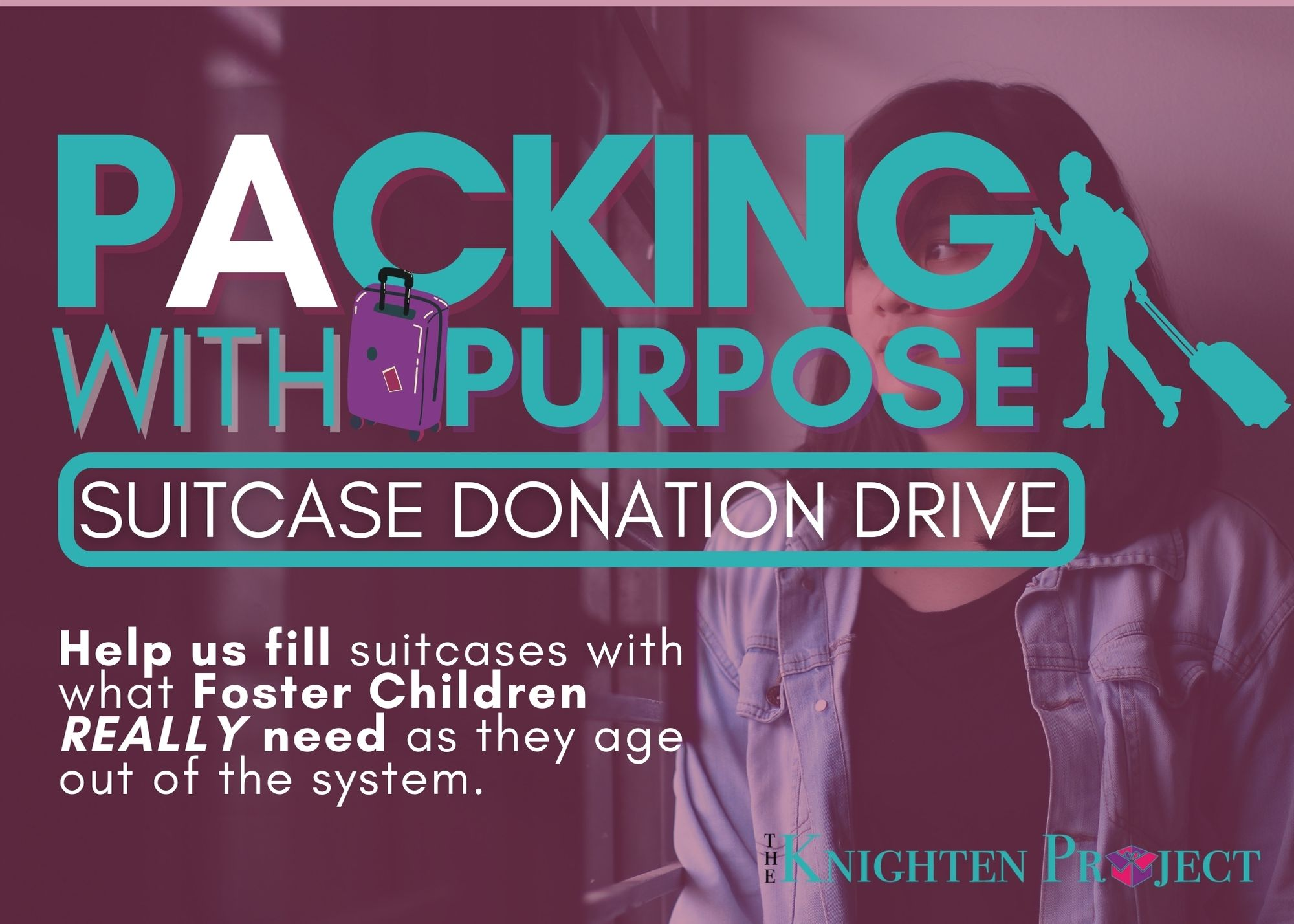 Packing with a Purpose Donation Drive